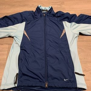Nike full zip windbreaker jacket